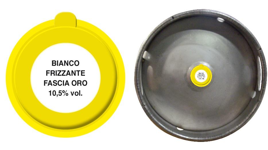 vendita vino in fusto distribuzione in tutta Italia Azienda Vinicola Revini Vino Bianco Frizzante Fascia Oro