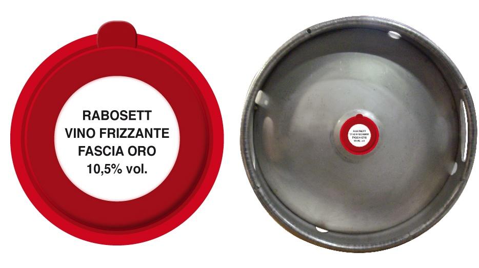 vendita vino in fusto distribuzione in tutta Italia Azienda Vinicola Revini Vino Rabosett Frizzante Fascia Oro
